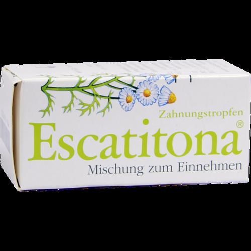 Verpackungsbild(Packshot) von ESCATITONA Zahnungstropfen