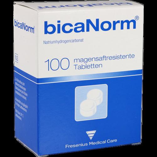 Verpackungsbild(Packshot) von BICANORM magensaftresistente Tabletten