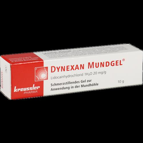 Verpackungsbild(Packshot) von DYNEXAN Mundgel