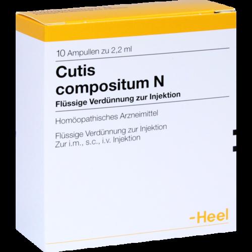 Verpackungsbild(Packshot) von CUTIS compositum N Ampullen