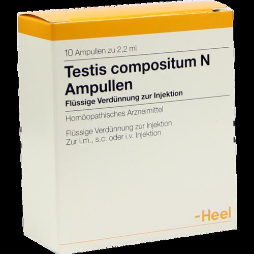 Verpackungsbild(Packshot) von TESTIS COMPOSITUM N Ampullen