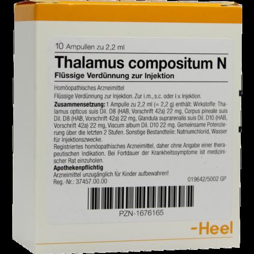 Verpackungsbild(Packshot) von THALAMUS compositum N Ampullen