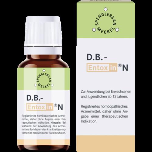 Verpackungsbild(Packshot) von D.B. Entoxin N Tropfen