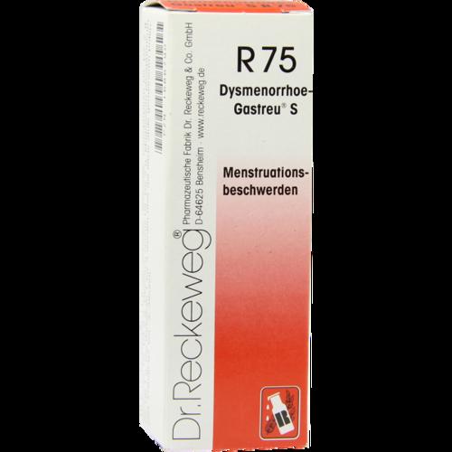 Verpackungsbild(Packshot) von DYSMENORRHOE-Gastreu S R75 Mischung