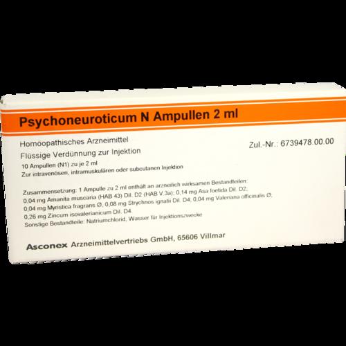 Verpackungsbild(Packshot) von PSYCHONEUROTICUM N Ampullen