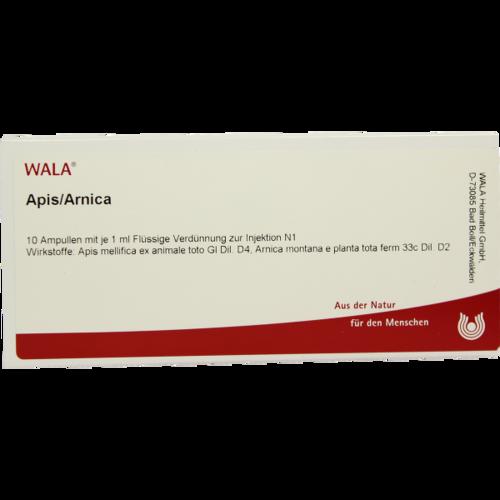 Verpackungsbild(Packshot) von APIS/ARNICA Ampullen