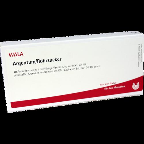 Verpackungsbild(Packshot) von ARGENTUM/ROHRZUCKER Ampullen