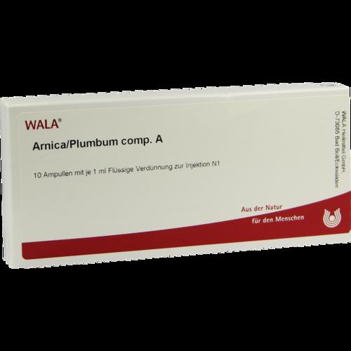 Verpackungsbild(Packshot) von ARNICA/PLUMBUM comp.A Ampullen