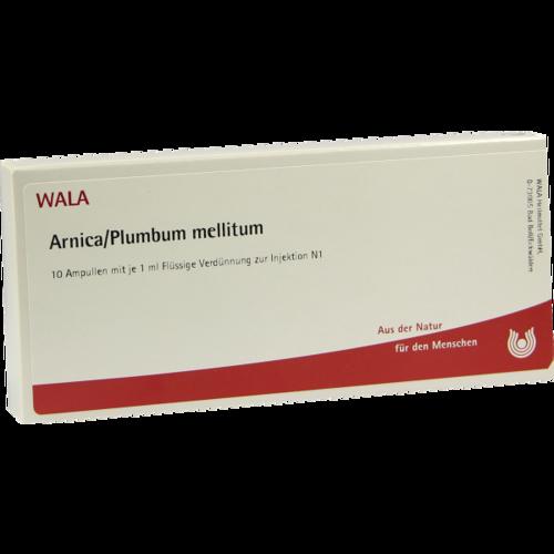 Verpackungsbild(Packshot) von ARNICA/PLUMBUM /Mellitum Ampullen