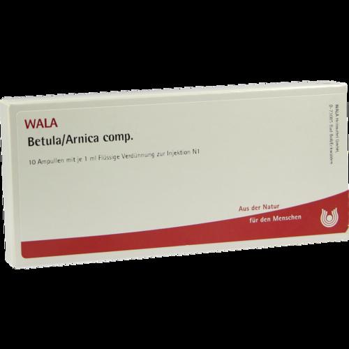 Verpackungsbild(Packshot) von BETULA/ARNICA comp.Ampullen