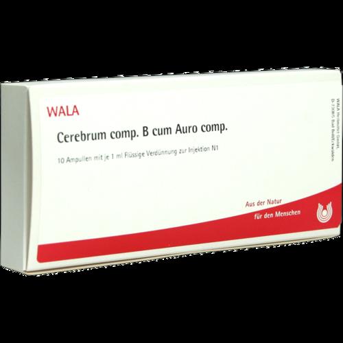 Verpackungsbild(Packshot) von CEREBRUM COMP.B cum Auro comp.Ampullen