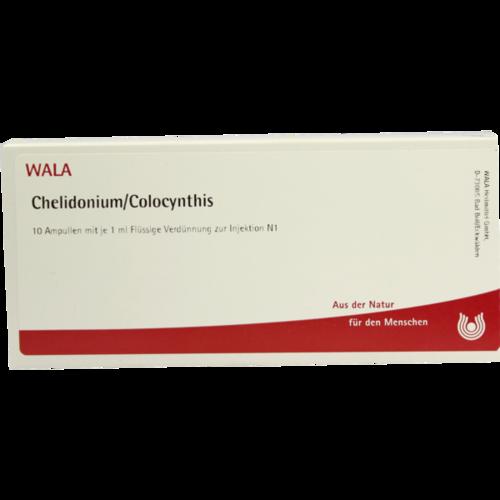 Verpackungsbild(Packshot) von CHELIDONIUM/COLOCYNTHIS Ampullen