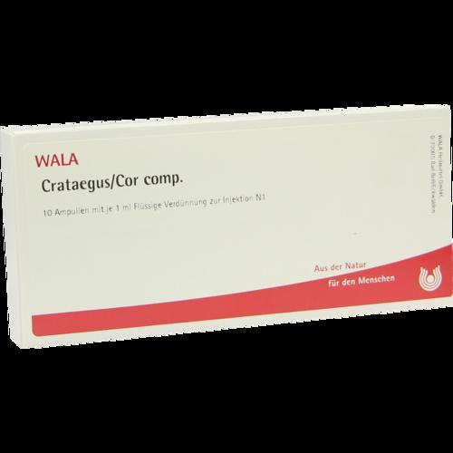Verpackungsbild(Packshot) von CRATAEGUS COR comp.Ampullen