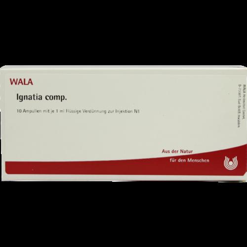 Verpackungsbild(Packshot) von IGNATIA COMP.Ampullen