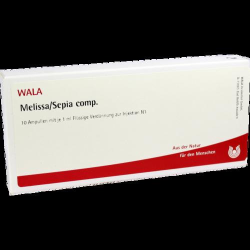 Verpackungsbild(Packshot) von MELISSA/SEPIA comp.Ampullen