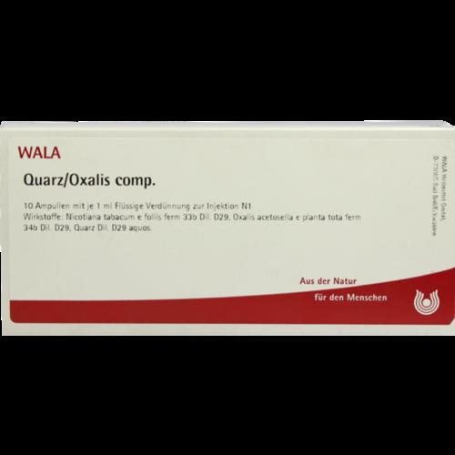 Verpackungsbild(Packshot) von QUARZ/OXALIS comp.Ampullen