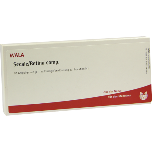 Verpackungsbild(Packshot) von SECALE RETINA comp.Ampullen