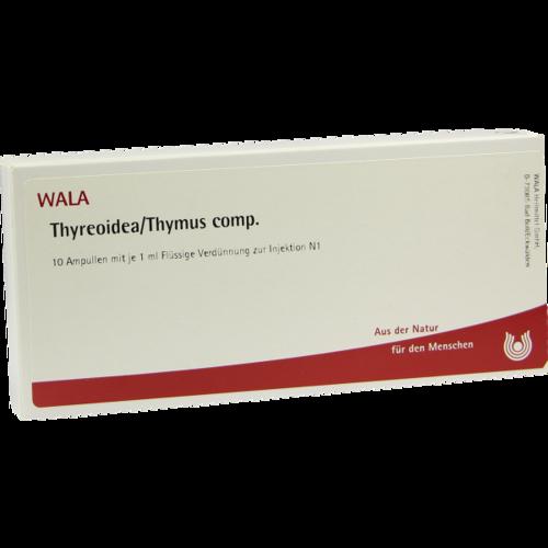 Verpackungsbild(Packshot) von THYREOIDEA/Thymus comp.Ampullen