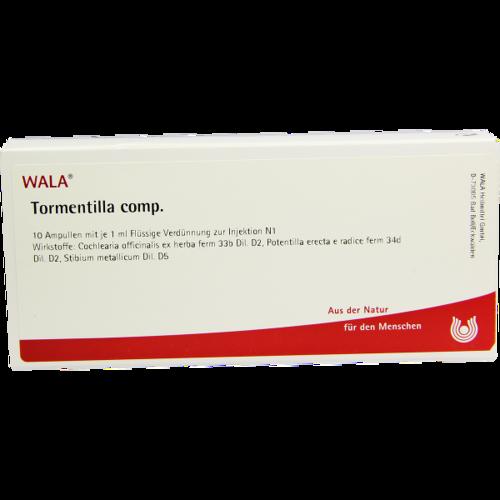 Verpackungsbild(Packshot) von TORMENTILLA COMP.Ampullen