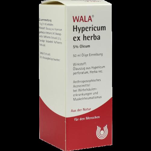 Verpackungsbild(Packshot) von HYPERICUM EX Herba 5% Oleum