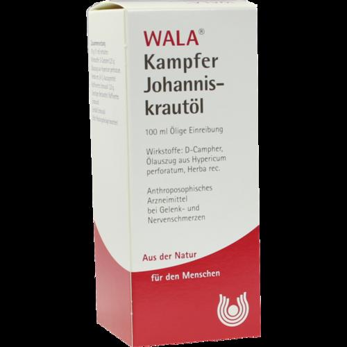 Verpackungsbild(Packshot) von KAMPFER-JOHANNISKRAUTÖL