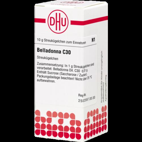 Verpackungsbild(Packshot) von BELLADONNA C 30 Globuli