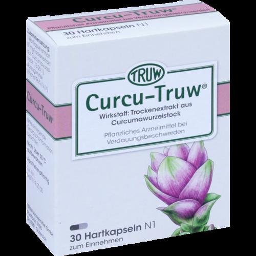 Verpackungsbild(Packshot) von CURCU TRUW Hartkapseln