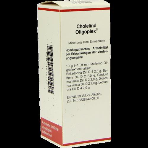 Verpackungsbild(Packshot) von CHOLELIND Oligoplex Tropfen