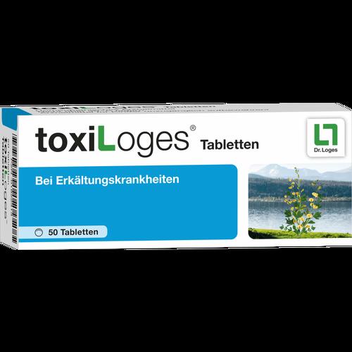 Verpackungsbild(Packshot) von TOXILOGES Tabletten