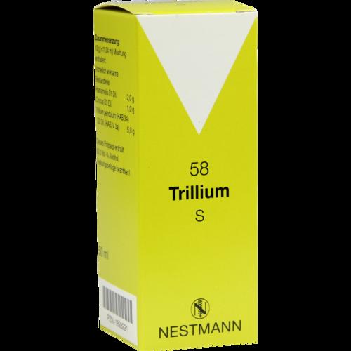 Verpackungsbild(Packshot) von TRILLIUM S 58 Tropfen