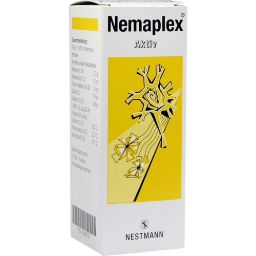 Verpackungsbild(Packshot) von NEMAPLEX Aktiv Tropfen