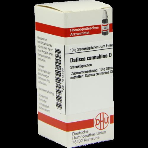 Verpackungsbild(Packshot) von DATISCA cannabina D 2 Globuli