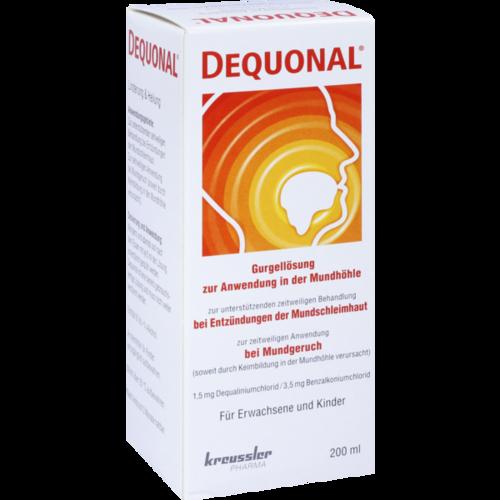 Verpackungsbild(Packshot) von DEQUONAL Lösung