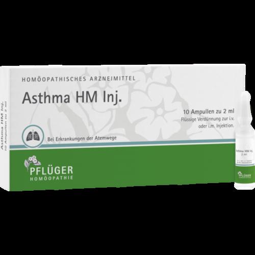Verpackungsbild(Packshot) von ASTHMA HM Inj.Ampullen