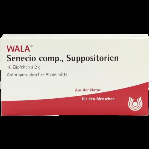 Verpackungsbild(Packshot) von SENECIO COMP.Suppositorien