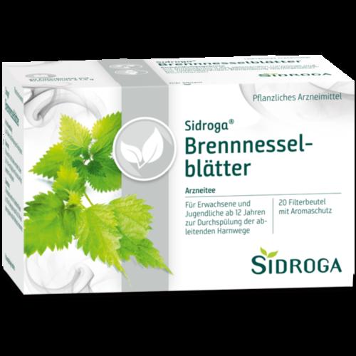 Verpackungsbild(Packshot) von SIDROGA Brennnesselblättertee Filterbeutel