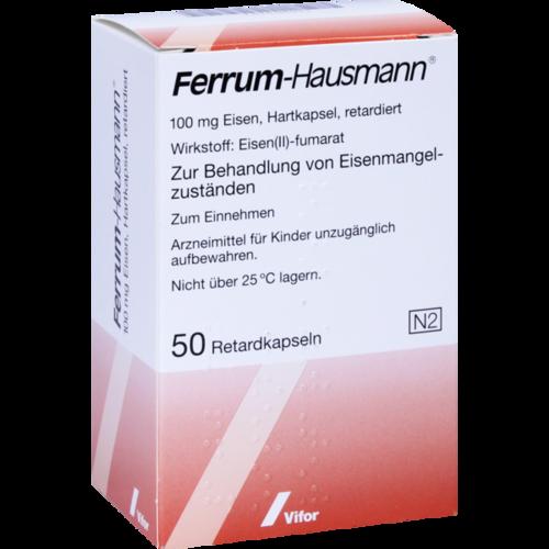 Verpackungsbild(Packshot) von FERRUM HAUSMANN Retardkapseln