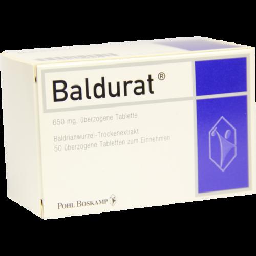 Verpackungsbild(Packshot) von BALDURAT Filmtabletten