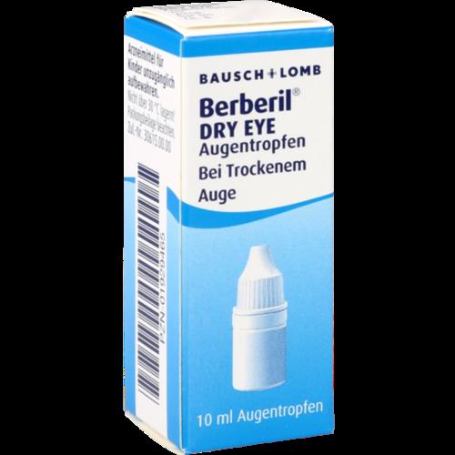 Verpackungsbild(Packshot) von BERBERIL Dry Eye Augentropfen