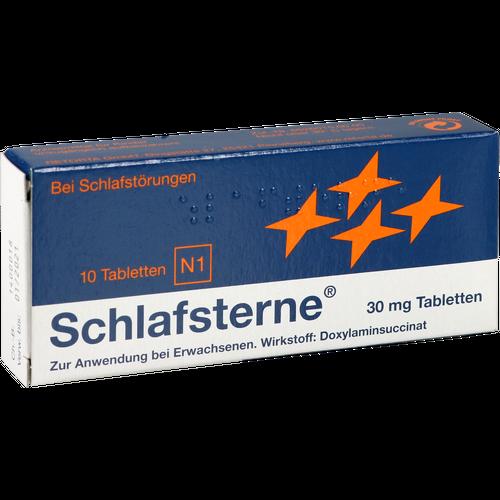 Verpackungsbild(Packshot) von SCHLAFSTERNE Tabletten
