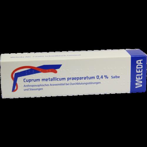Verpackungsbild(Packshot) von CUPRUM METALLICUM praep.0,4% Salbe
