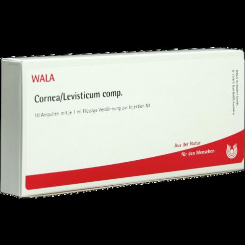 Verpackungsbild(Packshot) von CORNEA/Levisticum comp.Ampullen