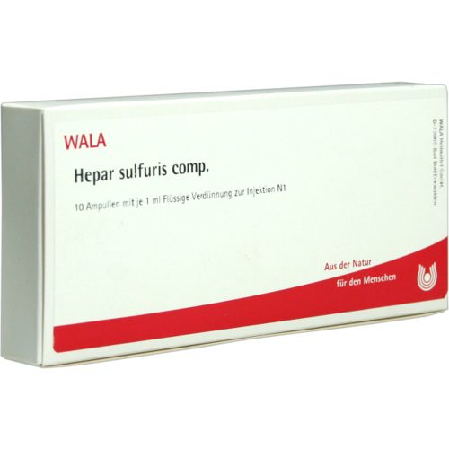 Verpackungsbild(Packshot) von HEPAR SULFURIS COMP.Ampullen