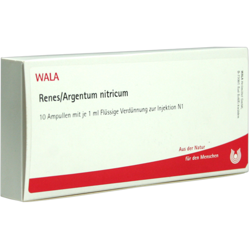 Verpackungsbild(Packshot) von RENES/ARGENTUM nitricum Ampullen
