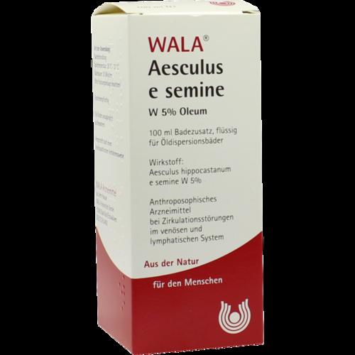 Verpackungsbild(Packshot) von AESCULUS E semine W5% Öl
