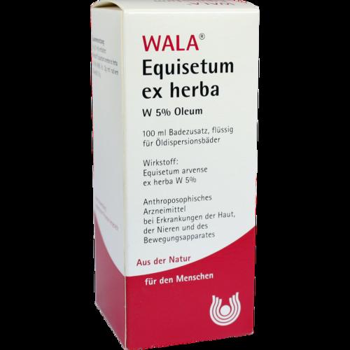 Verpackungsbild(Packshot) von EQUISETUM EX Herba W 5% Oleum