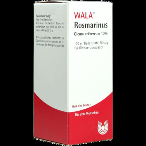 Verpackungsbild(Packshot) von ROSMARINUS OLEUM aethereum 10%