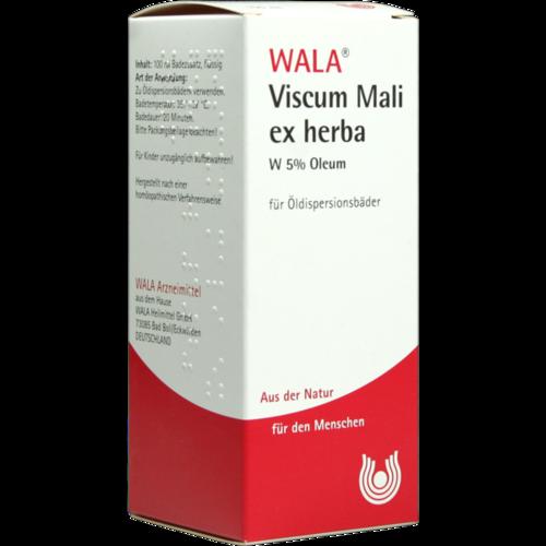 Verpackungsbild(Packshot) von VISCUM MALI ex herba W 5% Oleum