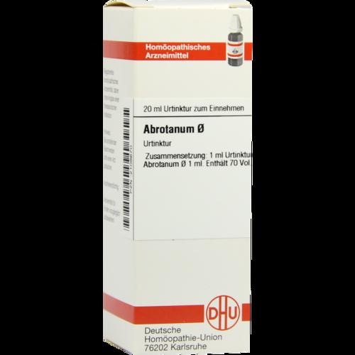 Verpackungsbild(Packshot) von ABROTANUM Urtinktur