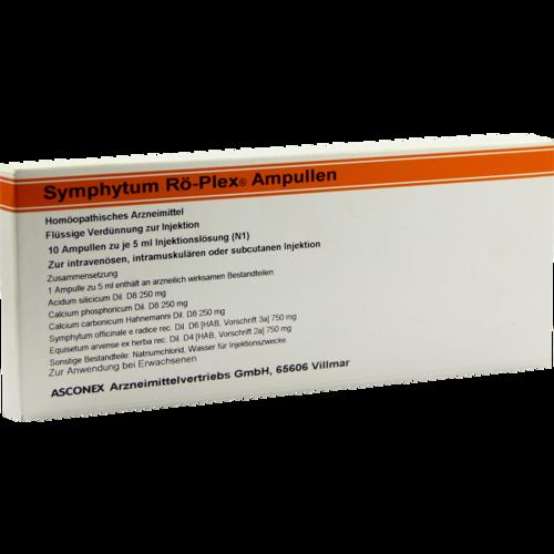 Verpackungsbild(Packshot) von SYMPHYTUM RÖ Plex Ampullen